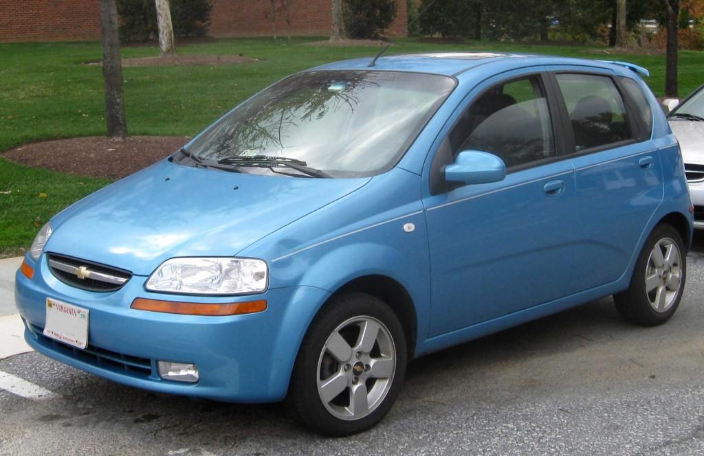 Chevrolet Aveo Lt: Фото 06.